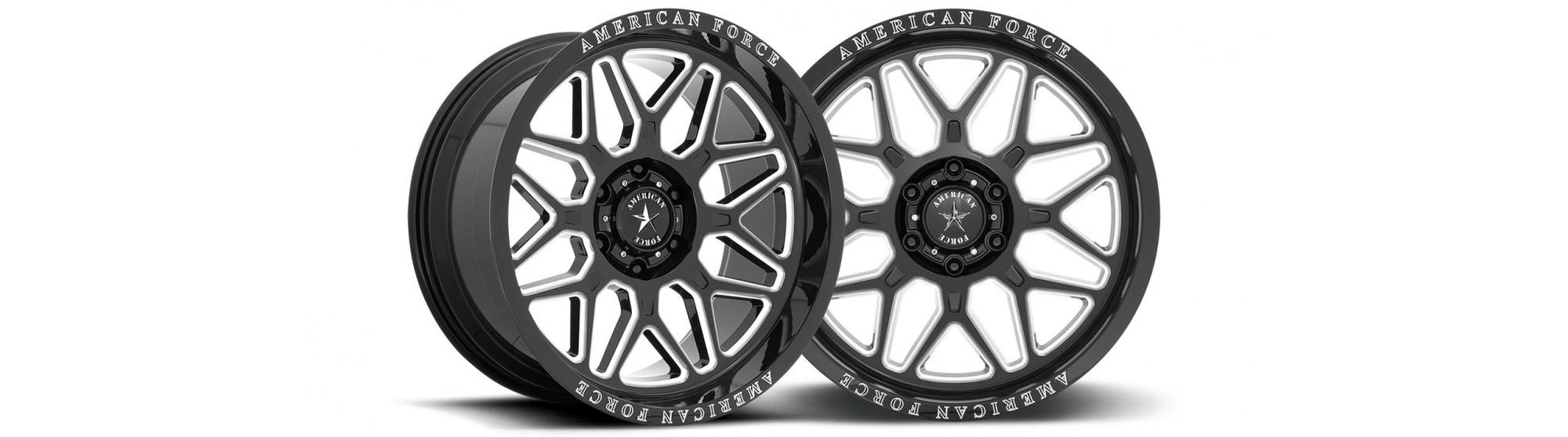 The All New Force Form AC001 Rush From American Force Wheels