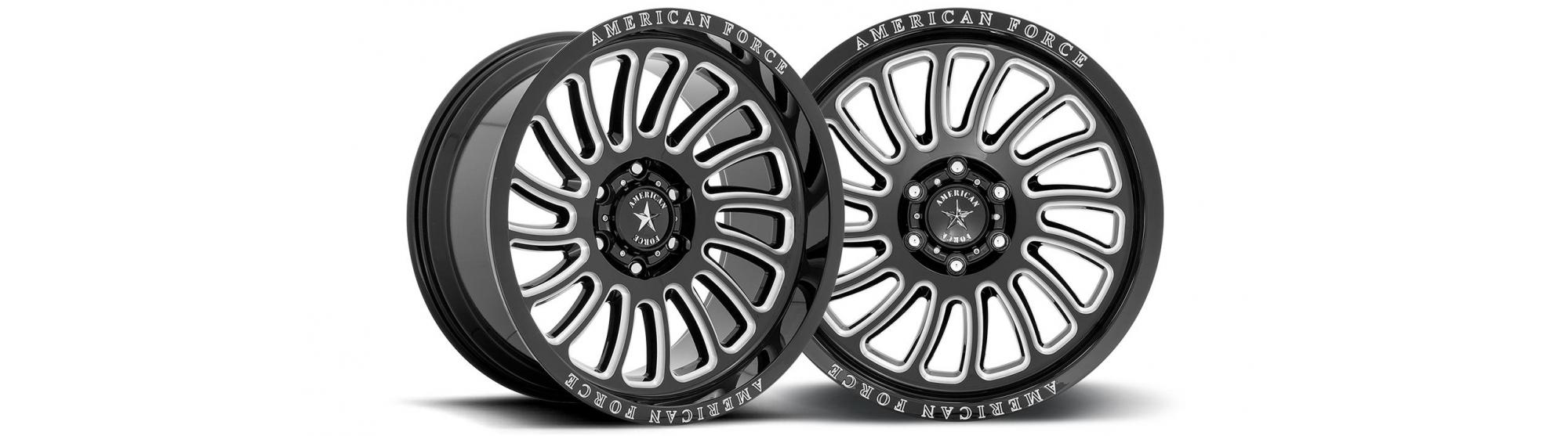 The New Force Form AC004 Vulcan from American Force Wheels